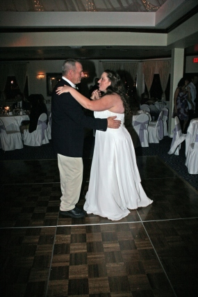 Me and my dad dancing at my wedding on October 23, 2011.