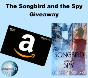 Songbird and spy giveaway