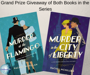 Murder in the city of liberty giveaway