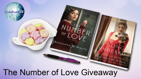 The number of love giveaway logo