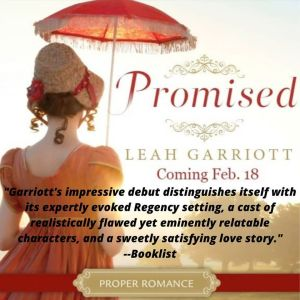 Promised with Booklist quote